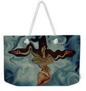 Crucified Woman Surreal I Weekender Tote Bag