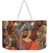 Crucifixion Fragment 1311  Weekender Tote Bag
