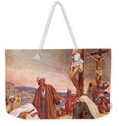 Crucifixion Weekender Tote Bag by William Brassey Hole