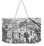 Cruikshank: London, 1851 Weekender Tote Bag