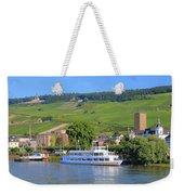 Cruise Boat, Rudesheim, Germany Weekender Tote Bag