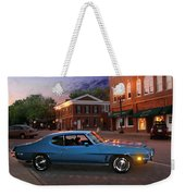 Cruise Night In Liberty Weekender Tote Bag