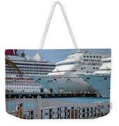 Cruise Ship Trio Weekender Tote Bag