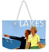 Cruise The Great Lakes Vintage Travel Poster Weekender Tote Bag