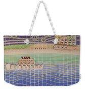 Cruise Vacation Destination Weekender Tote Bag
