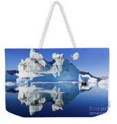 Cruising Between The Icebergs, Greenland Weekender Tote Bag
