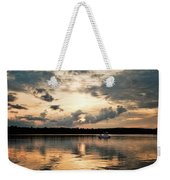 Cruising, Eagle Lake, Almaguin Highlands, Ontario Weekender Tote Bag