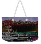 Cruising Puget Sound Weekender Tote Bag