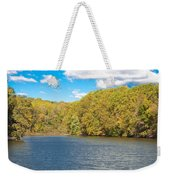 Crum Creek In Autumn Weekender Tote Bag