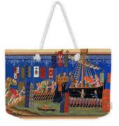 Crusades 14th Century Weekender Tote Bag by Granger