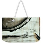 Crushed By Weekender Tote Bag