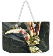 Crustacean On The Shore Weekender Tote Bag