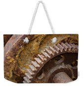 Crusty Rusty Gears Weekender Tote Bag