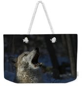 Cry In The Wild Weekender Tote Bag