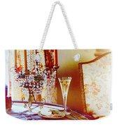 Crystal And Champagne Weekender Tote Bag