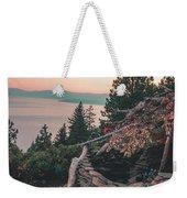 Crystal Bay Hut Weekender Tote Bag