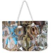 Crystal Blue Weekender Tote Bag