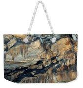 Crystal Cave Marble Sequoia Portrait Weekender Tote Bag