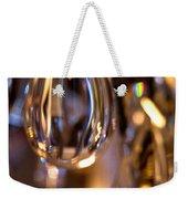 Crystal Chandelier Weekender Tote Bag