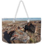 Crystal Forest Stump Weekender Tote Bag
