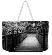 Crystal Garden Bridge Weekender Tote Bag