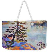 Crystal Light Over The Lake Weekender Tote Bag