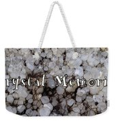 Crystal Memories Weekender Tote Bag