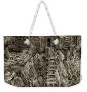 Crystal Mill Marble Colorado Sepia Dsc06944 Weekender Tote Bag