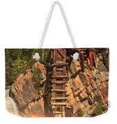 Crystal Mill Rainbow Weekender Tote Bag
