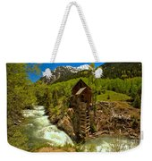 Crystal Mill Summer Landscape Weekender Tote Bag