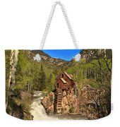 Crystal Mill Through The Trees Weekender Tote Bag
