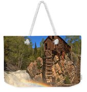 Crystal River Rainbow Weekender Tote Bag