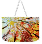 Crystal Sunburst Weekender Tote Bag