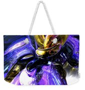 Crystalized Ecstasy Abstract  Weekender Tote Bag