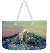Crystalline Mountain Weekender Tote Bag