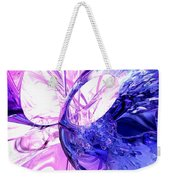 Crystallized Abstract Weekender Tote Bag