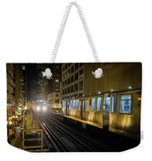 Cta Meet At The State-lake Street Station Chicago Illinois Weekender Tote Bag