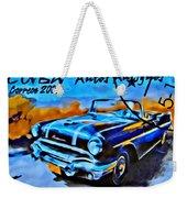 Cuba Antique Auto 1956 Catalina Weekender Tote Bag