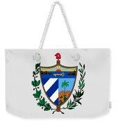Cuba Coat Of Arms Weekender Tote Bag