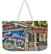 Cuban Coffee Queen Weekender Tote Bag