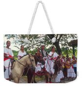 Cuban Entertainment  Weekender Tote Bag
