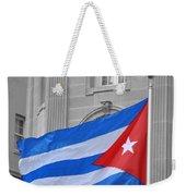 Cuban Flag Weekender Tote Bag