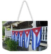 Cuban Flags Weekender Tote Bag