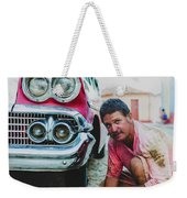 Cuban Mechanic Weekender Tote Bag