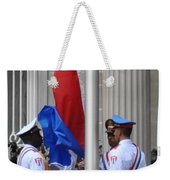 Cuban Raise Weekender Tote Bag