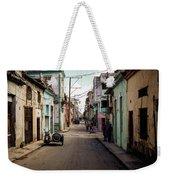 Cuban Street Weekender Tote Bag