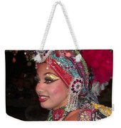 Cuban Tropicana Dancer Weekender Tote Bag