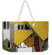 Cube Houses Detail In Rotterdam Weekender Tote Bag