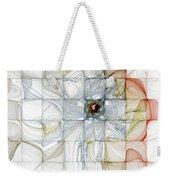 Cubed Pastels Weekender Tote Bag