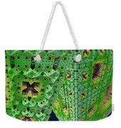 Cubes In Green Weekender Tote Bag